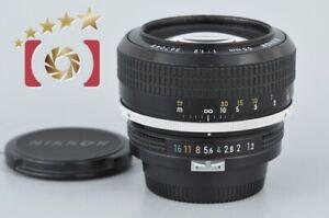 Very Good!! Nikon New NIKKOR 55mm f/1.2 Non Ai Lens