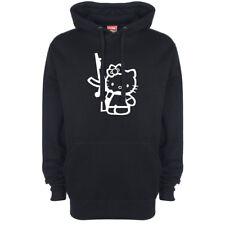Hello Kitty AK47 Logo Hoody Hoodie Hooded Top