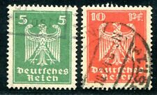 DR 1924 356-357Xx gest FASERPAPIER geprüft BPP 700€(Z1060