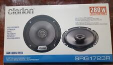 "CLARION SRG1723R 560 Watts 2 Way 6.5"" 17cm Coaxial Car Speakers"