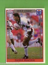 1993 RUGBY LEAGUE CARD #134  DANNY PEACOCK, GOLD COAST SEAGULLS