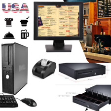New Touch Screen Pos Point Of Sale System Hardly Used Bar Restaurant Retail