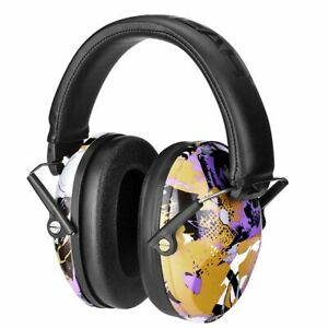 Earmuff Headphones For Kids 25dB Noise Reduction Hearing Protection Adjustable