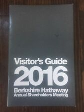 2016 Berkshire Hathaway Annual Shareholders Meeting Visitors Guide Buffett