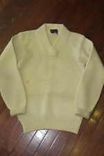 Vintage 30s Michigan State Wool Letter Sweater, Big Ten Tennis Coach, Small