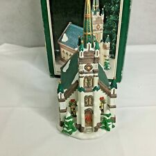 Dickens Collectibles Victorian Series Lighted House Porcelain 1998 Church Xmas