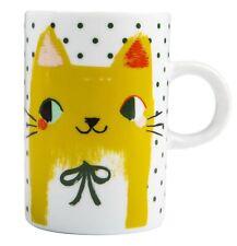 New listing Danica Meow Meow Tall Mug - New - Happy Yellow Cats - 14 oz. oversized mug