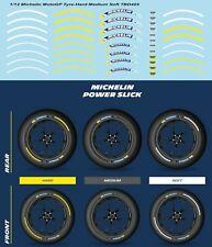 1/12 Michelin MotoGP Tyre Soft Medium Hard Decals TB Decal TBD403