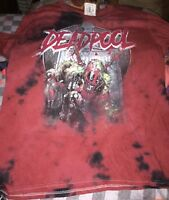 OFFICIAL MARVEL RISE FROM THE DEADPOOL T-SHIRT  (SIZE MEDIUM) NEW WITH TAGS
