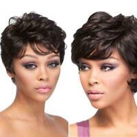 Womens Wigs Full Hair Short Fluffy Medium uburn Wig Women Wear Daily N7Q5