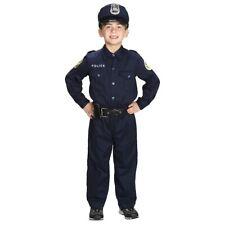 Jr Police Officer Costume Halloween Fancy Dress