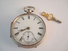Open Face Antique Pocket Watches with Fusee
