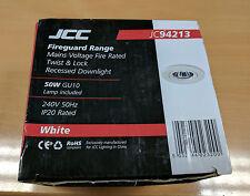 JCC Fireguard JC94213WHI GU10 Down Lighter White ** Free P&P **