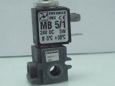 Pneumax 1/8 BSP Petit normalement ouvert Soupape pour air et vide, 305.M1/1 24 V DC