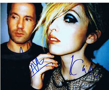 THE TING TINGS signed 8x10 photo PROOF