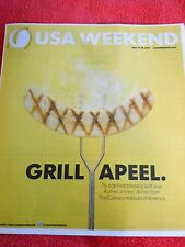 USA WEEKEND MAGAZINE MAY 2014 BANANA SPLIT CULINARY INSTITUTE OF AMERICA