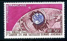 STAMP / TIMBRE POLYNESIE PA N° N° 6 ** TELECOMMUNICATIONS SPATIALES