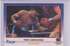 1991 KAYO FRED LIBERATORE BOXING CARD #58 ~ BAYSIDE NY