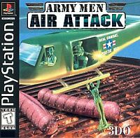 Army Men: Air Attack (Sony PlayStation 1, 1999) - PS1 - Complete