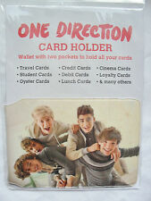 GENUINE ONE DIRECTION 1D CREDIT OYSTER STUDENT BUSPASS CARD HOLDER WALLET *NEW*