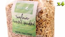 40oz Gourmet Style Bags of Roasted UnSalted Hulled SunFlower Seeds [2 1/2 lbs.]