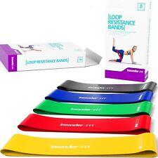 #1 Bandas elasticas de resistencia para hacer ejercicios con ligas de ejercicio*