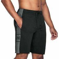 Under Armour Mens Shorts XXL 2XL Black Loose Heatgear