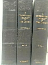 A Comprehensive History of the Church-  3 hardcover books-  1930