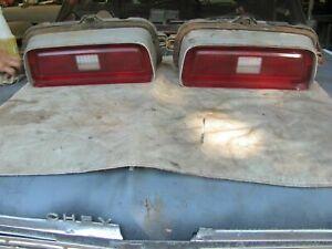1974 Chevrolet Chevelle Malibu Classic Laguna Rear Tail lights Brake Lights Pair