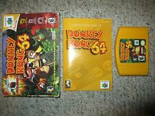 Donkey Kong 64 (Nintendo 64 n64) Complete in Box FAIR