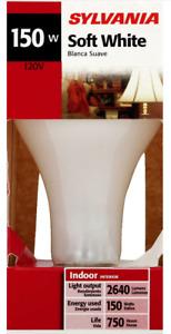 Sylvania Incandescent Light Bulb 150 watt 120V A21 Medium Screw (E26) Warm white