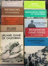 Lot Of 10 Fish And Game Of Caifornia Booklets