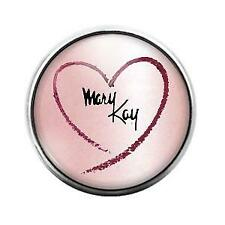 Dome Candy Snap Charm Gd1249 Mary Kay - 18Mm Glass