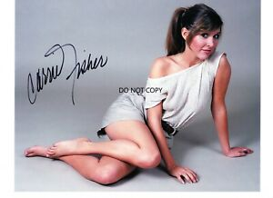 """CARRIE FISHER """"Star Wars, 8x10 autograph signed photo"""
