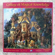NEW College of Magical Knowledge James Christensen 1500 Pce Puzzle