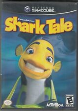 DREAMWORKS SHARK TALE (2004) Nintendo GameCube Complete with Manual Activision