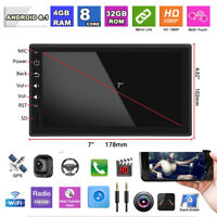 """1Din 7"""" Car Stereo Radio GPS Player Android 8.1 Octa-Core RAM 4GB ROM 32GB WIFI"""
