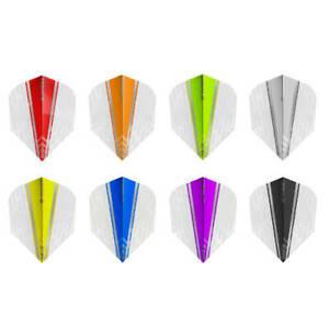 Target Darts Vision Ultra White Wing No6 Standard Shape Flights