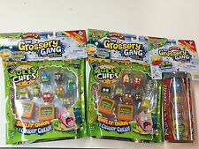 (2)The Grossery Gang season 2  MOLDY CHIPS  10 packs & (1)ROTTEN SODA can 4 pack