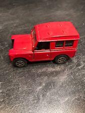 Polistil Real Wheels Land Rover EL 66 Series Die-Cast Toy Car 1/43 Scale Italy