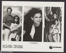 VINTAGE PRESS PHOTO / EL MAGNATE / TELEMUNDO / 1990's