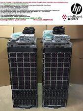 2x HP EVA4400 C7000 G2 32x BL460c G7 384 Core 4 TB RAM 76 TB 4 Gbit FC San soluzione