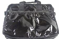 Le Sportsac BLACK Computer BRIEFCASE Organizer BAG 15 X 12 Coated Nylon Padded
