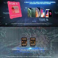 R-SIM15 RSIM14+ Nano Unlock Card Lot For iPhone 11 i Pro/11 Pro RSIM D4J7 M M1Y7
