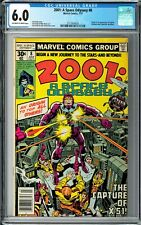 2001: A Space Odyssey #8 CGC 6.0 (Jul 1977, Marvel) Jack Kirby, 1st Machine Man
