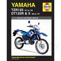 Yamaha DT 125 R 1991 Haynes Service Repair Manual 1655