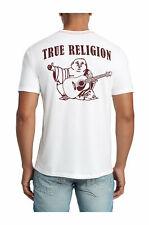 True Religion Men's Digital Motherboard Graphic Buddha Logo Tee T-Shirt