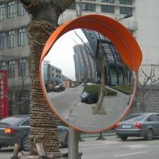 60cm Traffic Wide Angle Security Curved Convex Road Mirror 180 Degrees UK VAT