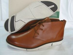 NEW CLARKS  TRIGENIC MID TAN SOFT LEATHER BOOTS SIZE 7.5&10.5