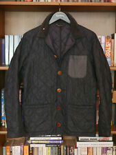 £169 rare Mens Barbour Dept B Lock quilted navy jacket size S Small XS 34